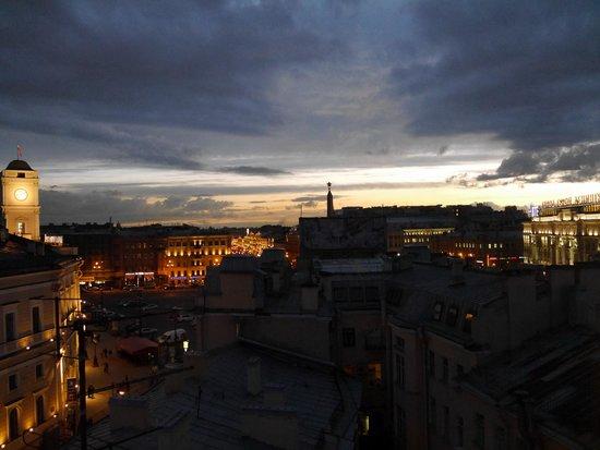Park Inn by Radisson Nevsky St. Petersburg Hotel: Blick Richtung Neva