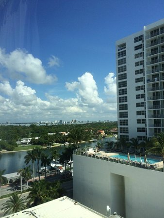 Miami Beach Resort and Spa: View the other direction