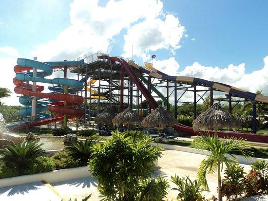 Sirenis Punta Cana Resort Casino & Aquagames : aquapark