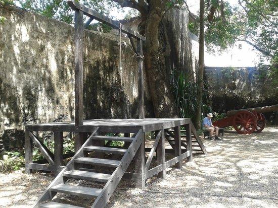 Museo Historico de Cartagena de Indias : La horca