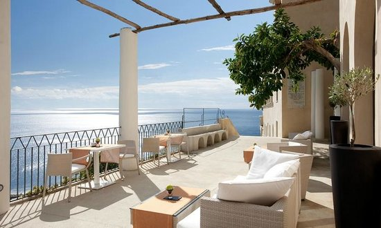 NH Collection Grand Hotel Convento di Amalfi: Restaurant Terrace