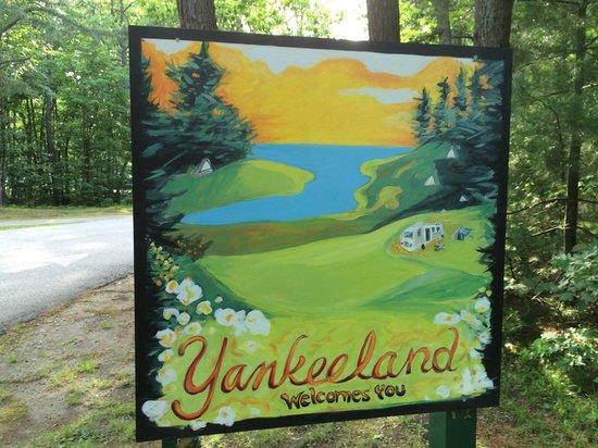 Yankeeland Campground: Welcome to Yankeeland