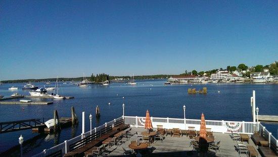 Boothbay Harbor from Rocktide Inn