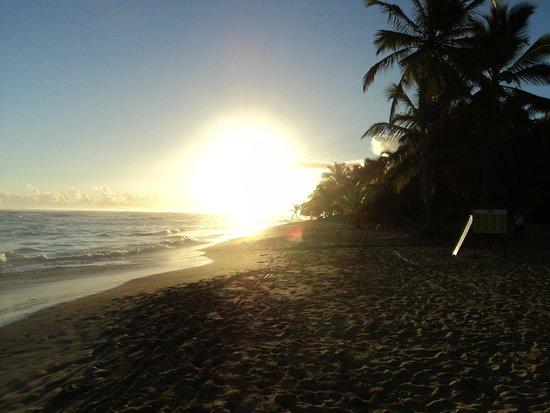Sirenis Punta Cana Resort Casino & Aquagames : couché de soleil