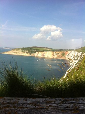 The Needles Battery: From the look out post