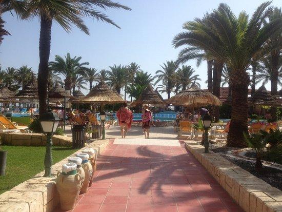 Riadh Palms Hotel: Main pool