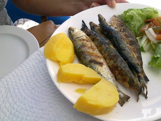 Restaurante Tik - Tak: Unas Sardinitas.