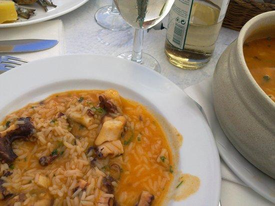 Restaurante Tik - Tak: Arroz de Pulpo....muy bueno...y pulpo, pulpo...¡¡¡