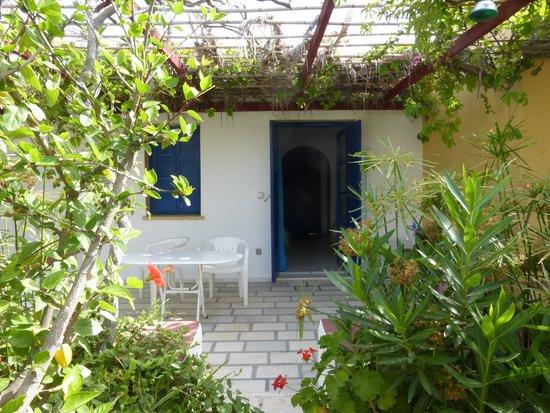 Casa di Roma: le bungalow et la terrasse