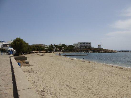 Casa di Roma: la plage , à 2 minutes de l'hôtel