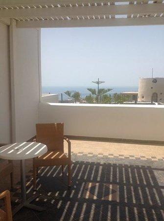 Orizontes Hotel & Villas: terrazza della suite honeymoon