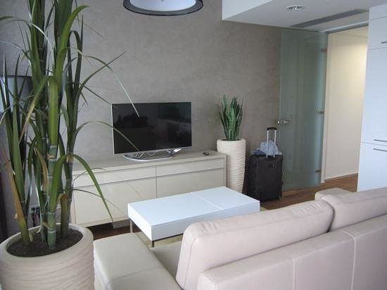 Wenceslas Square Terraces: Living Room