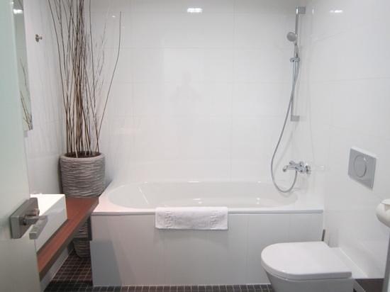 Wenceslas Square Terraces: Main bathroom
