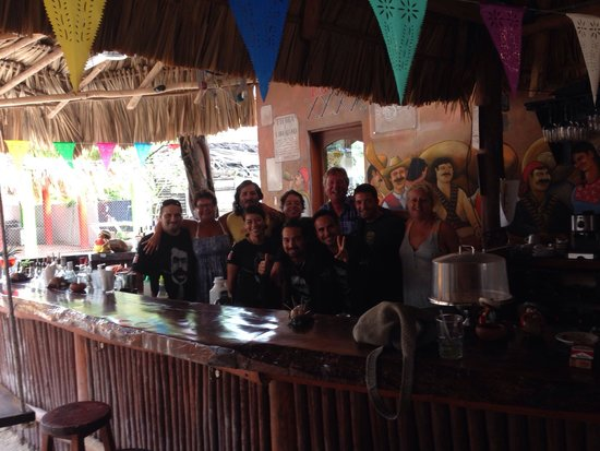 Viva Zapata Isla Holbox: Personalen på Viva Zapata