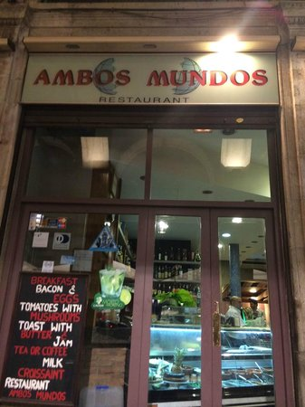 Restaurante Ambos Mundos : Ambos Mundos June2014