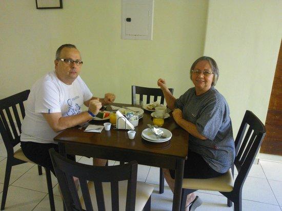 Belem Soft Hotel: No café da manhã