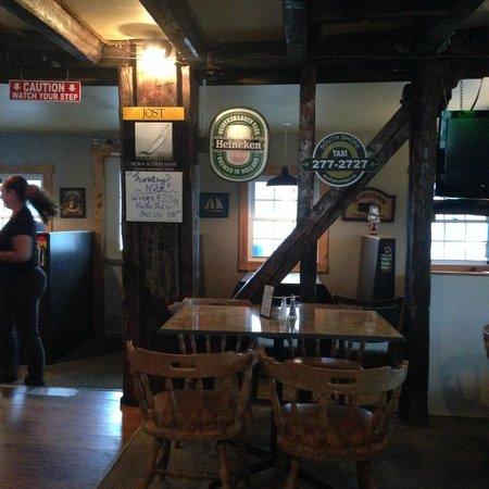 Rope Loft Dining Room: bar area
