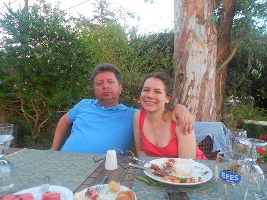 Manuela Restaurant : Bir yaz akşamı...29.Haziran.2014