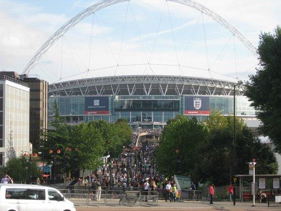 bild neu wembley stadion: