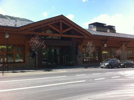 Sport Hotel Hermitage & Spa: entrada