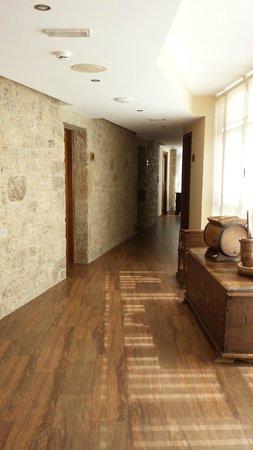 Hotel Rustico Vila Do Val: pasillo 2º planta