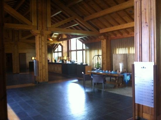 Sport Hotel Hermitage & Spa: recepcion