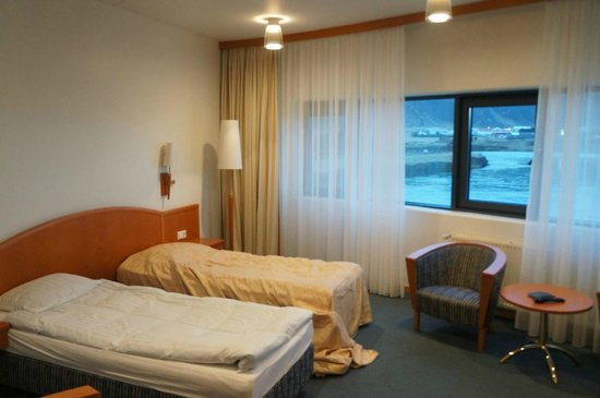 """Hotel Selfoss: Our """"superior"""" room."""
