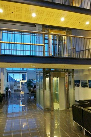 Hotel Selfoss: Lobby.