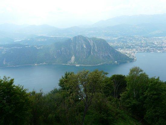 Belvedere della Sighignola: Panorama uitzicht op het Como en Lugano meer.