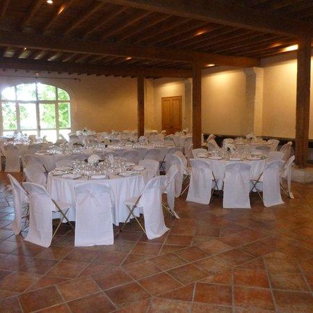 Chateau de Vergieres : interieur