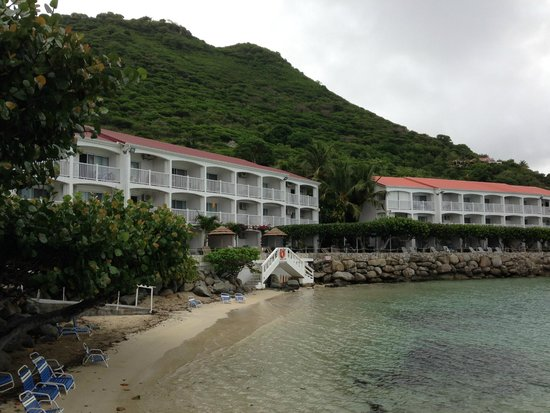 Grand Case Beach Club: Hotel view from the water