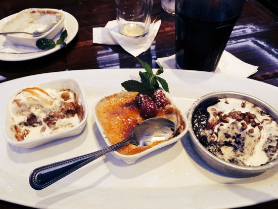 """Cadillac Ranch: the """"don't pass up"""" dessert trio"""