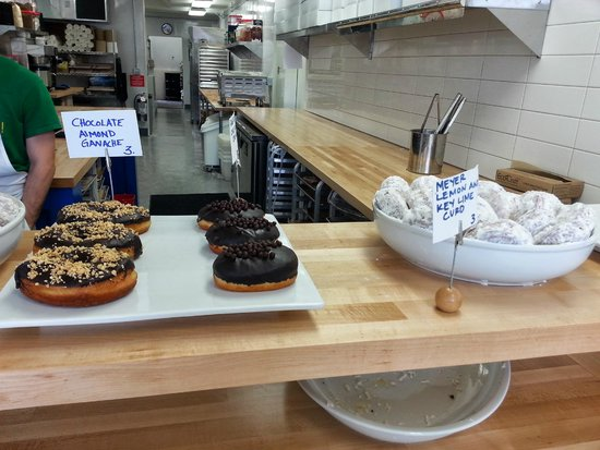 Blue Star Donuts: that's the chocolate ganache deliciousness