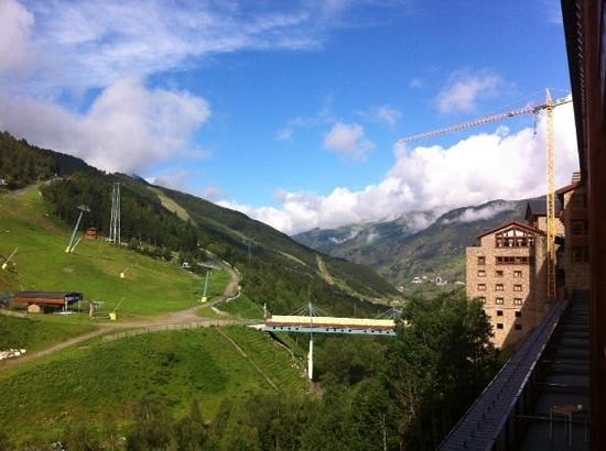 Sport Hotel Hermitage & Spa : vistas desde la habitacion