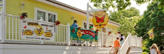 The Original Mackinac Island Butterfly House & Insect World: We are located behind St. Anne's Church a short walk from Downtown...