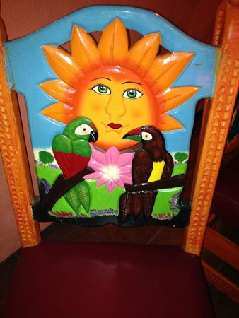Fiesta Mexicana: Don't miss the hand-carved patio chairs