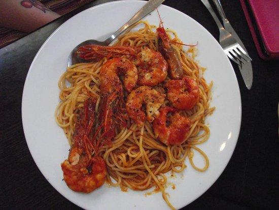 Palmar Apartments: Praws & spaghetti