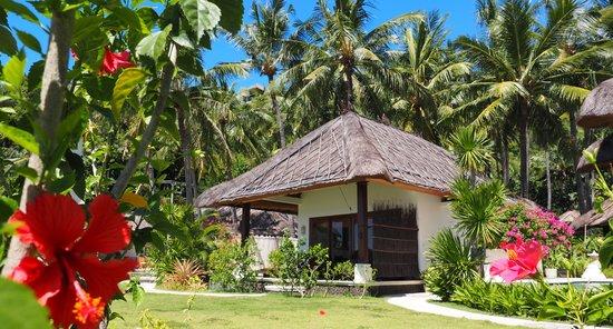 Palm Garden Amed Beach & Spa Resort : Oceanfront Villa