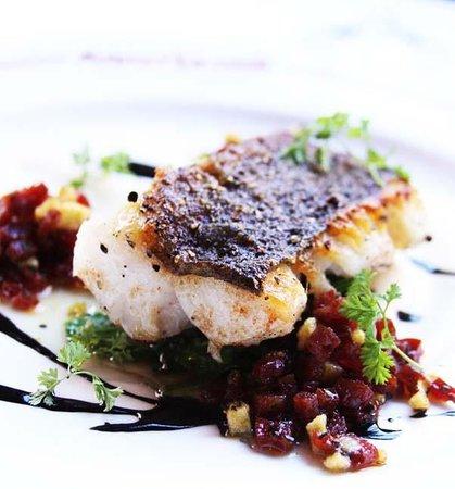 Aquitaine : chorizo and cod