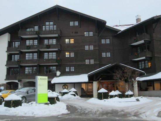 Lindner Parkhotel & Spa: Eingangsbereich