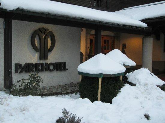 Lindner Parkhotel & Spa: Aussenansicht