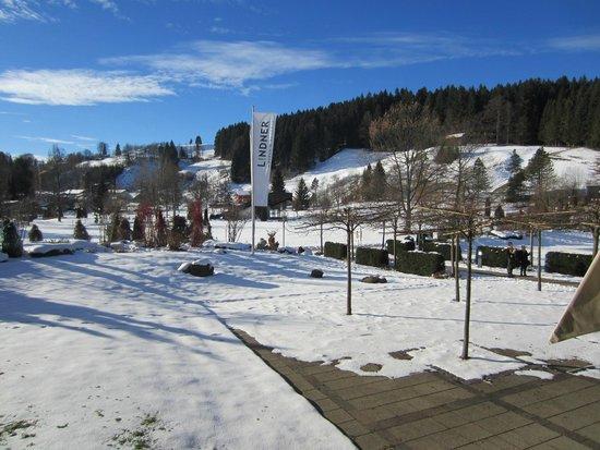 Lindner Parkhotel & Spa: Aussicht vom Balkon aus