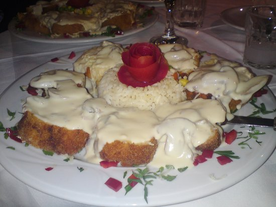 Restaurant Drosia: Chicken Drosia