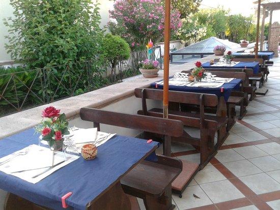Braceria Cilentana: giardino