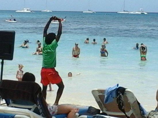 Hotel Bayahibe: exelente la conduccion de Picaso en gimnasia