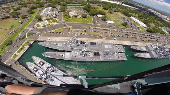 Genesis Helicopters : Two Japanese ships in Pearl Harbor