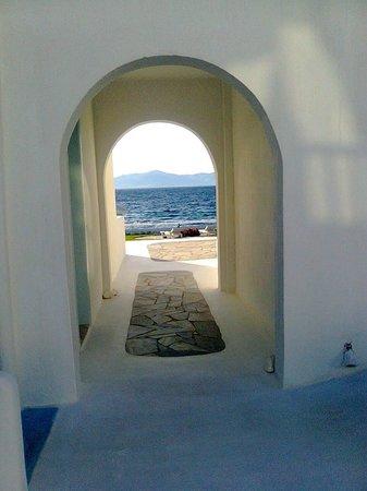 Mykonos Bay Hotel: vista mare