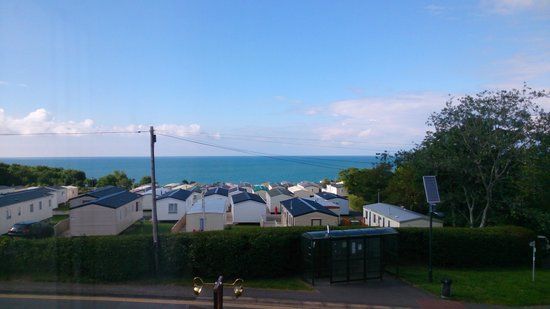 The Cambrian Hotel - B &B, Pub and Restaurant: sea view from room1