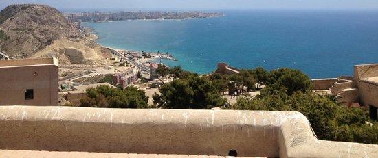 Castillo de Santa Bárbara: Panoramique du château