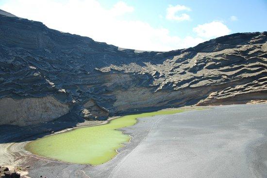 El Lago Verde : Krater El Golfo